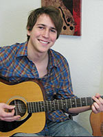 Jake Farr, Guitar instructor at Brandon Guitar Studio